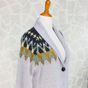 Coldwater Creek Embellished Knit Cardigan Sweater